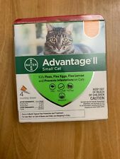 Bayer Advantage II Flea Treatment for Small Cats 5 to 9 lbs. - 4 Monthly Doses