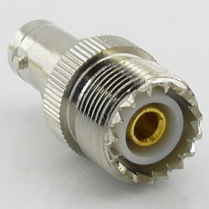 BNC Female to SO239 UHF Female Socket RF Adaptor - Interseries PL259