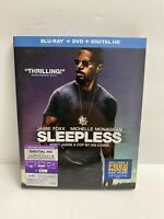 SLEEPLESS (Blu-ray / DVD SET) Jamie Foxx