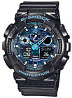 *NEW* CASIO MENS G SHOCK BLUE WATCH OVERSIZE XL GA-100CB-1AER 1ADR RRP£129