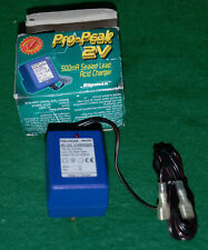 Ripmax Pro-Peak 2v  500mA Sealed Lead Acid Charger