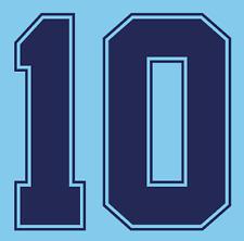 Inglaterra Lineker del Camisa de fútbol Número Letra calor impresión fútbol 1990 3rd