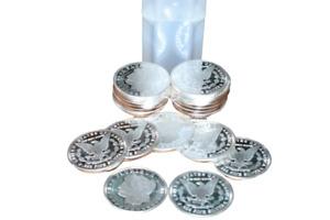 Roll of (20) 1 Troy oz. Morgan Design Silver Dollar .999 Fine Silver Round