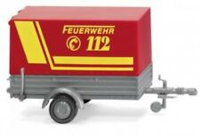 1/87 Wiking Feuerwehr PKW Anhänger 0056 05