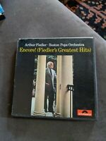 ARTHUR FIEDLER BOSTON POPS ENCORE GREATEST HIT STEREO REEL TO TAPE 4 TRACK 3 3/4