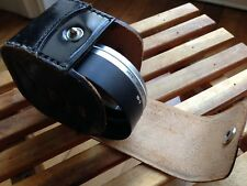 Canon S-60 Metal Hood Clamp On With Leather Case