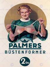 VINTAGE PALMERS BRA BUST GERMANY VINTAGE ADVERTISING POSTER RETRO PRINT 1572PY