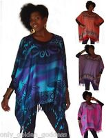 u pick color poncho top OS M L XL 1X 2X 3X 4X plus size batik chic original