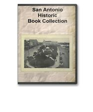 San Antonio, TX Texas History Culture Who's Who Genealogy 16 Book Set - D89
