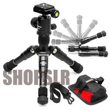 Horusbennu Mini Traveler Tripod TM-5+LX-30TL w dovetail plate for SLR DSLR Canon