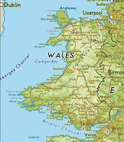 WELSH WALES MAP IRON ON T SHIRT TRANSFER LARGE A4 SIZE