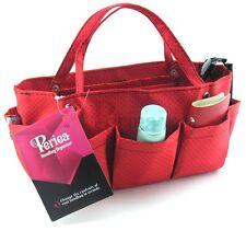 Periea handbag organiser, tidy, organizer, purse insert red-Tilly