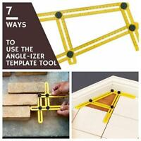Easy Measuring Instrument Angle-izer Four-Sided Ruler Mechanism Slide Template