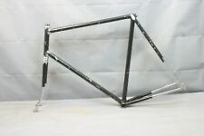 1985 Miyata Vintage Touring Road Bike Frame 63cm X-Large Lugged Steel US Charity