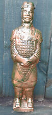 Terracotta Army Warrior General Chinese Garden Ornament - 26cm Frost Proof