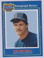 "1990  DON MATTINGLY - ""JUMBO SUNFLOWER SEEDS"" Baseball Card # 8 - N.Y. YANKEES"