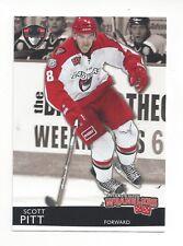 2012-13 Las Vegas Wranglers (ECHL) Scott Pitt (Braehead Clan)