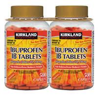 Kirkland Signature Ibuprofen IB, 200 mg. 1000 Ct. Back Pain & Migraine Relief