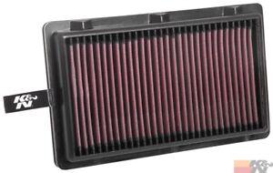 K&N Replacement Air Filter For HYUNDAI TUCSON L4-2.0L DSL 2015-2018 33-3125