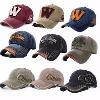 Men Women Baseball Sport Golf Cap Adjustable Hip-hop Visor Snapback Hat Trucker