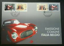 Belgium Italy Joint Issue Car 2003 Arts Antique Tools Vehicle (joint FDC) *Rare