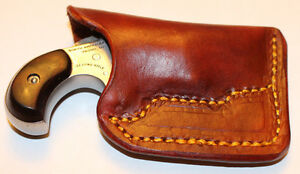 Pocket holster for North American Arms 22 Lr with 1 1/8 barrel