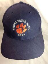 Clemson TIgers 2001 Toyota GATOR BOWL Embroidered  Snapback Hat Cap