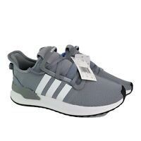 Adidas Mens Size 8  U Path Run Athletic Sneakers Run Gray Shoes NWT New No Box