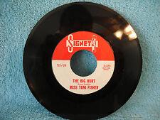 Miss Toni Fisher, The Big Hurt / Memphis Bell, Signet, 3-275, 1959, 45 RPM