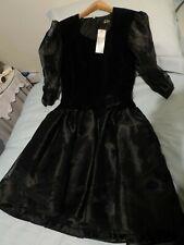 Debut Black Dress Size 14 BNWT