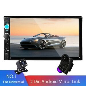 """2 din Car Stereo 7"""" HD Car Radio Multimedia Player 2DIN Touch Screen Auto Audio"""