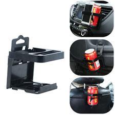 Car Folding Cup Holder Air Outlet Seat Back Beverage Rack Mobile Phone Bracket