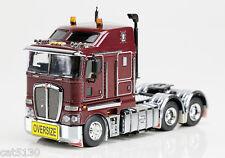 "Kenworth K200 Drake Truck Tractor - ""BURGUNDY"" - 1/50 - Z01372"