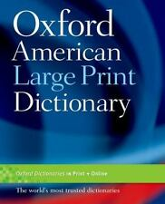 Oxford American Large Print Dictionary  Paperback