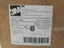 """3M ITCSN-2000 Heat Shrinkable Cable Sleeve Shrink 2"""" x 48"""" for 250 thru 750 MCM"""