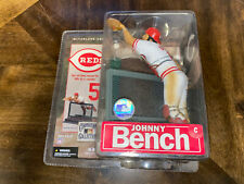 Johnny Bench Cooperstown Collection Series 4 Figure Reds McFarlane New Sealed