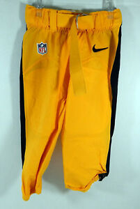 Pittsburgh Steelers Game Issued Yellow Game Pants 30 DP06649