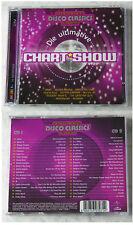 ULTIMATIVE CHARTSHOW DISCO CLASSICS Abba,Blondie,Santa Esmeralda.40 Track DO-CD