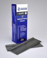 1000 Pack 2 L Cleat Hardwood Flooring Nails Fasteners 16 Gauge Ga Fits Most