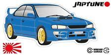 Subaru WRX Impreza  V1 - Blue with Simmon Rims - JDM - JapTune Brand