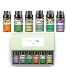 6pcs/Set 10ml Essential Oils Aromatherapy Pure Plant Essential Oil Massage Hot