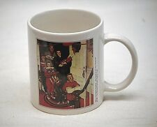 Norman Rockwell Saturday Evening Post Coffee Cup Mug Came In New Plymouth 1951