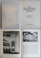 Das Neue Königliche Schauspiel-Haus in Dresden um 1913 - Architektur Sachsen -xz