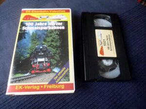 VHS EK Eisenbahn 100 Jahre Harzer Schmalspurbahnen Harzquer Brocken HSB Mittelgb
