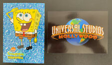 Universal Studios Hollywood & SpongeBob SquarePants – 2 Postcards
