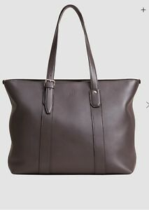 Dunhill Tote Bag Hampstead East West 100% Leather BNWT RRP £995 STUNNING