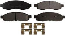 Disc Brake Pad Set-ProSolution Semi-Metallic Brake Pads Front Monroe FX1015