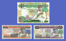 BRUNEI - Lots of 3 notes - 500-->10000 Ringgit - Reproductions