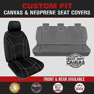 IVECO DAILY Custom Fit Seat Covers Front or Rear, Neoprene or Canvas Waterproof