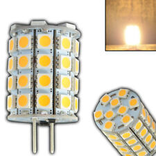 G6.35/GY6.35 LED 6 Watt ~35W Halogen 12V AC/DC 49x5050 warmweiß Birne Lampe